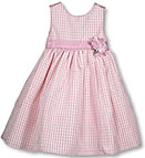 pink baby dress.