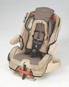 Eddie Bauer Toddler Car Seat Installation