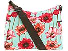 Poppy print hobo diaper bag.
